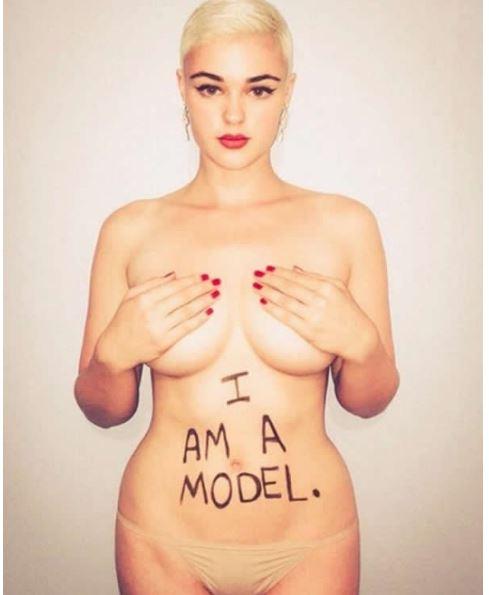 「超性感精靈系女模」完全證明「胖一點更美」。#18裸洗澡那張嚇到我了!(19張)