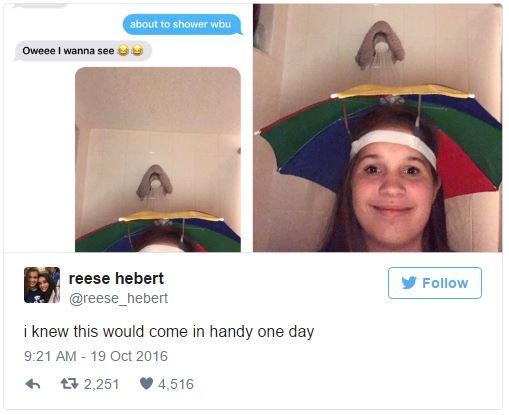 16歲女生遇色男同學說「寄裸體給我」,她回傳一張「性感淋浴濕身自拍照」對方氣到看不下去!