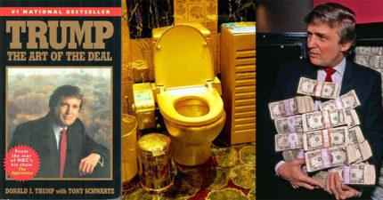15件川普擁有「可以買起幾個國家」的最貴東西,#3這本書原來是讓川普當總統的關鍵!