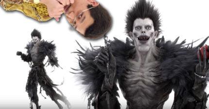 PIKO太郎化身為《死亡筆記本》的死神路克,超娘舞步重現比原版欠打百倍。筆蘋果結合時超詭異!