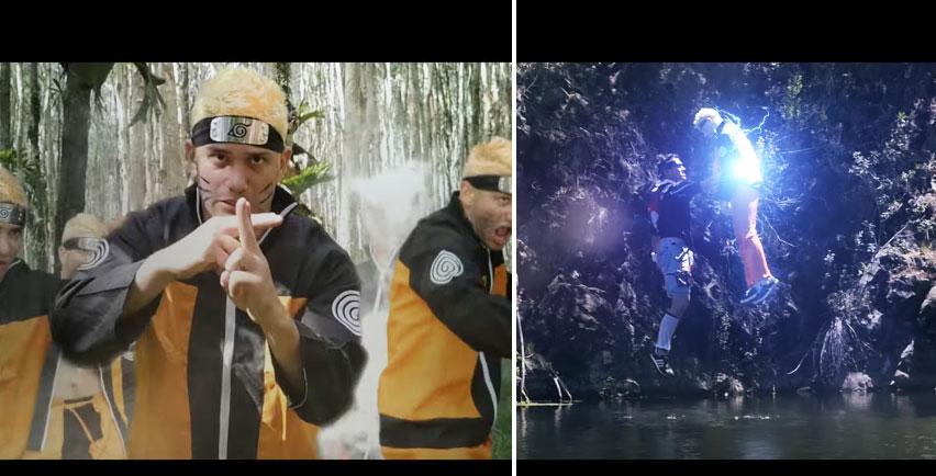 老外拍攝《火影忍者》「鳴人VS佐助」真人版已經比日本電影強N倍,1:52色誘術插屁屁超爆笑!