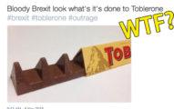 瑞士三角巧克力最新「縮水」造型讓網友罵爆!超可悲讓人們暴怒「英國脫歐惹的禍!」