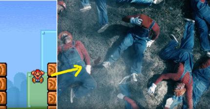 瑪莉歐每次死掉屍體都到哪了?「超詭異真相」影片會讓你永遠不敢讓他死!