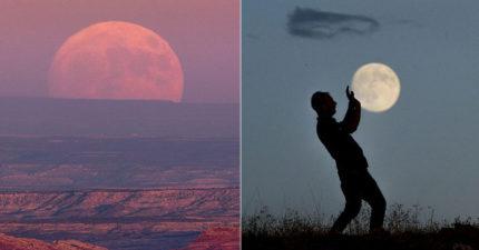 16張「錯過再等18年」國外拍到的超級月亮大好幾倍,但全球最美麗的「月色傾瀉海面」景象就在台灣!