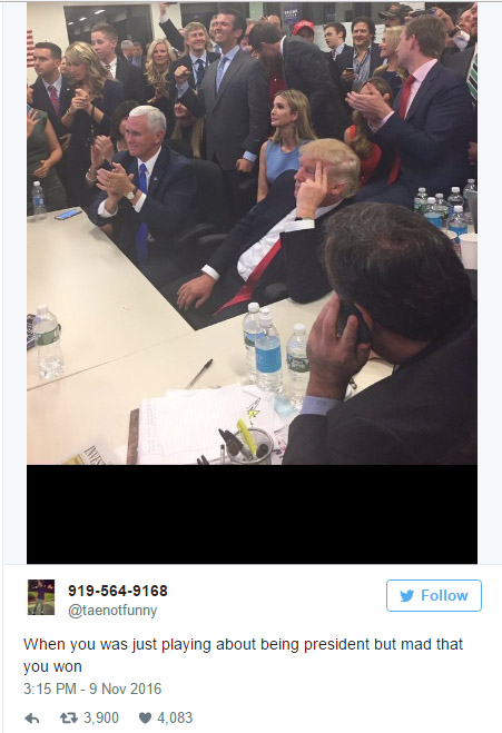 17張「川普當選後才誕生」讓人笑到崩潰梗圖。#16是所有上班族的痛...