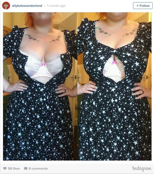 25個只有很瘦但胸部豐滿的女孩才能看懂的「別人不懂大ㄋㄟ困擾」。#5買內衣都是血淋淋的慘劇!