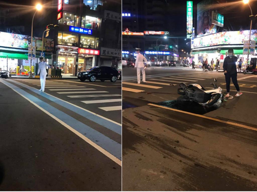 帥氣海軍官校生路見車禍「一秒變交通警察」,網友直呼:「Man死我了!」
