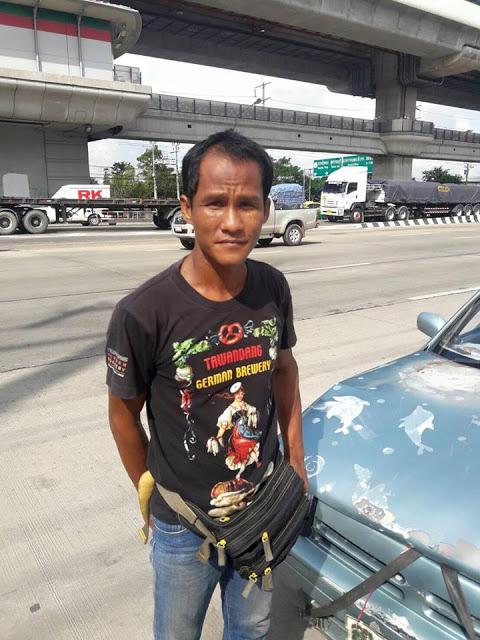 魚販不小心撞上藍寶堅尼,受害車主回說:我們都是泰國人,該互相幫助!