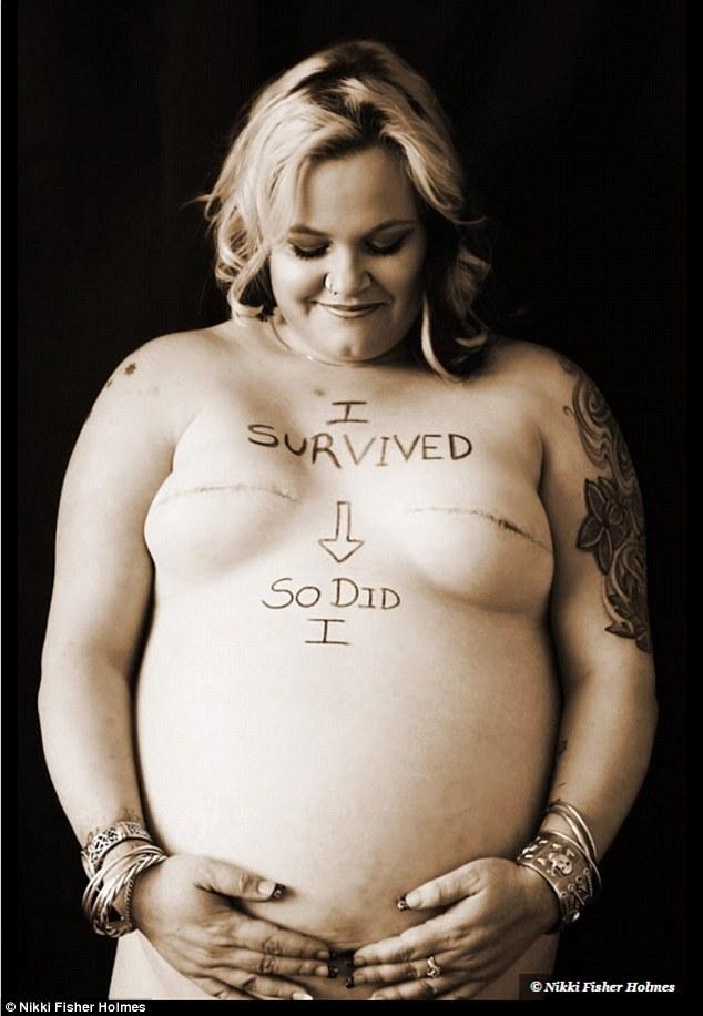 世界上最勇敢的媽媽就是她!「我懷孕還不是把你幹掉了」超狂勝利照讓所有媽媽拍手叫好!