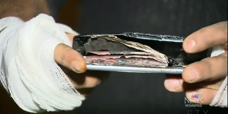 這次出事的不是Note 7!三星手機又再次發生爆炸事件了!