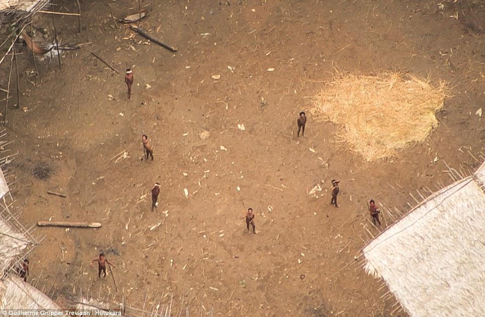 無人機飛過亞馬遜雨林發現「從未曝光原始部落」,原住民第一次看到無人機反應超級爆炸!