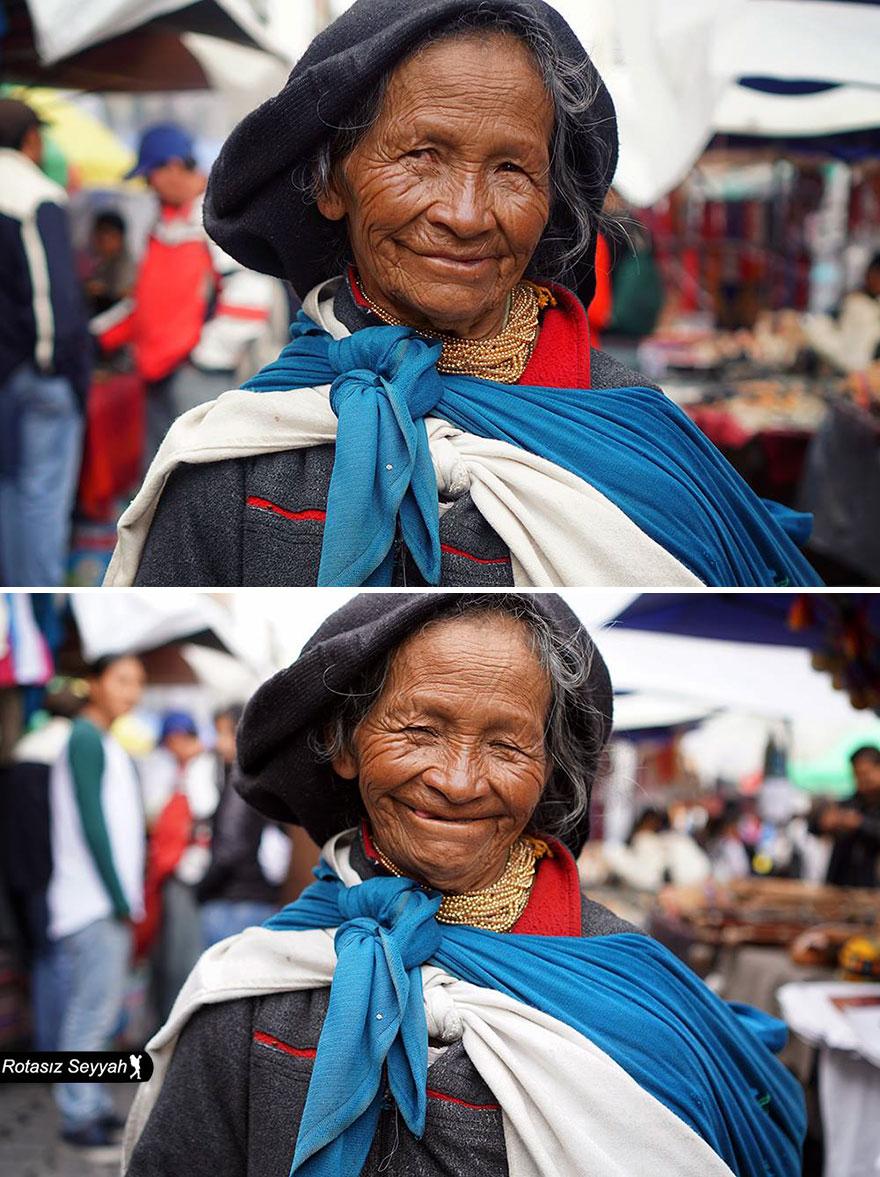 19張攝影師到世界各地然說「你真的很漂亮」的之前之後比對照!證明這世界只需要多點愛!