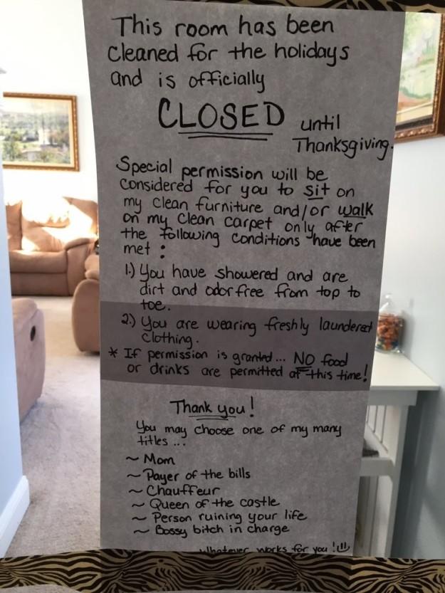 媽媽「關閉客廳一個月」全家人滿頭問號 連狗狗都怕到不敢踏進去...