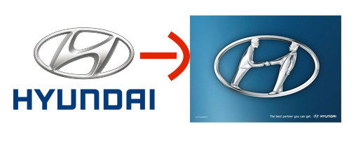 16個藏有天才巧思的神設計商標 現代汽車其實是兩個人握手!