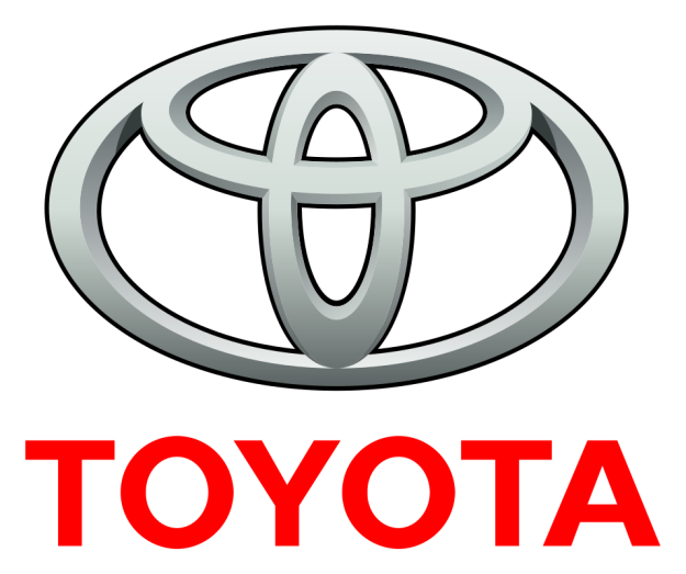 The Toyota logo is actually pretty incredible...