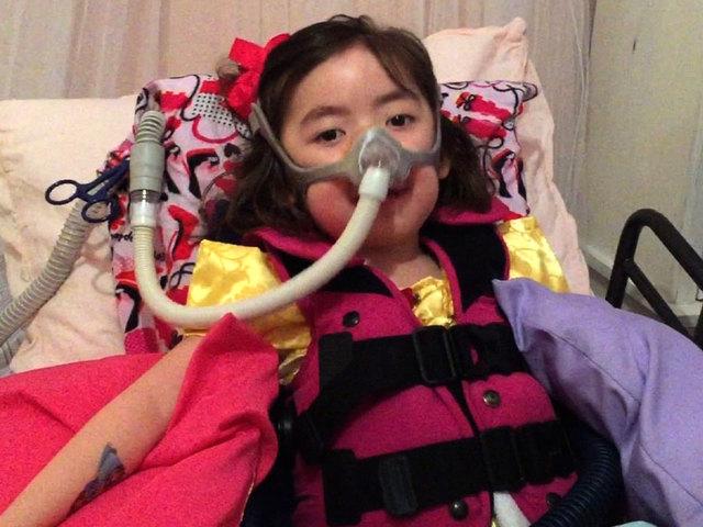 5歲罕病女童生命盡頭自願放棄治療,安慰媽咪「沒關係上帝會照顧我」感動無數人。