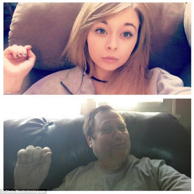 女兒太愛在網上PO性感照,爆笑老爸擠出乳溝讓她羞辱到再也不敢了!(15張)