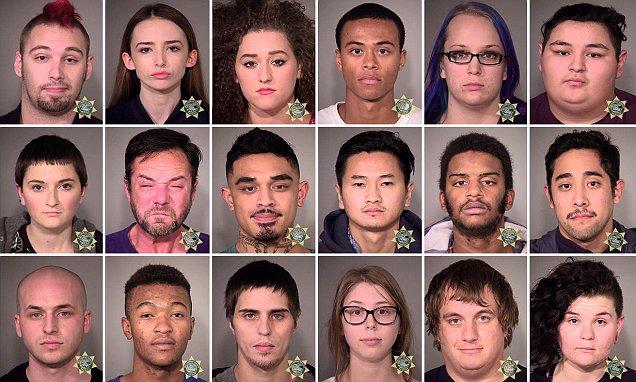 美國「反川普遊行」持續暴動!大批抗議者遭逮捕卻被發現「根本沒去投票」讓人發現嚴重問題...