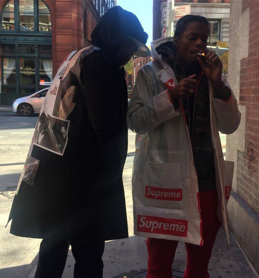 神人用16個潮牌塑膠袋打造出「獨一無二超狂外套」,網友大呼「CP值超高!」
