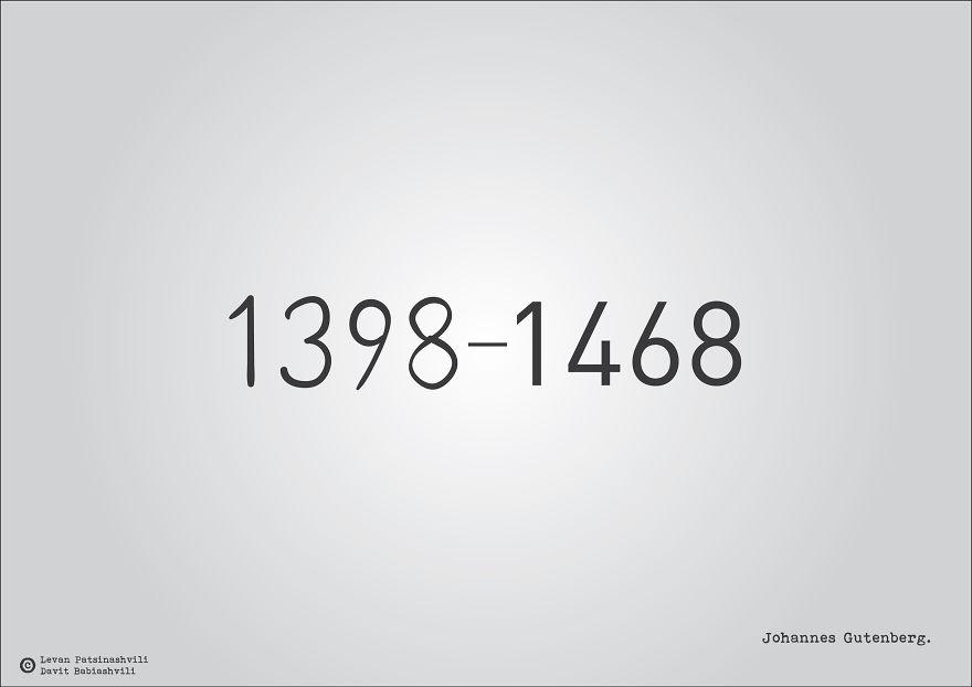 25個「字體裡暗示某個歷史事件」的奇特西元年份字體 1984年超有梗!