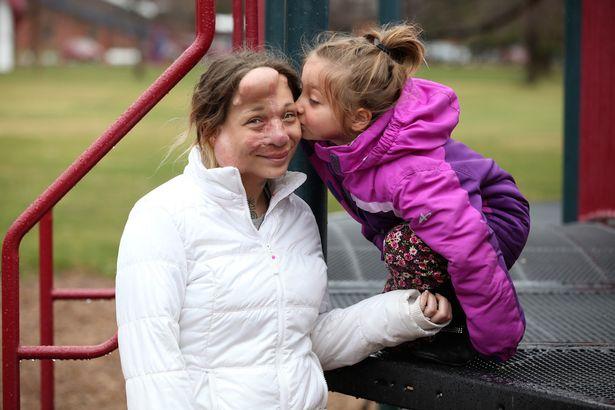 Jennifer Hiles with daughter Kiah