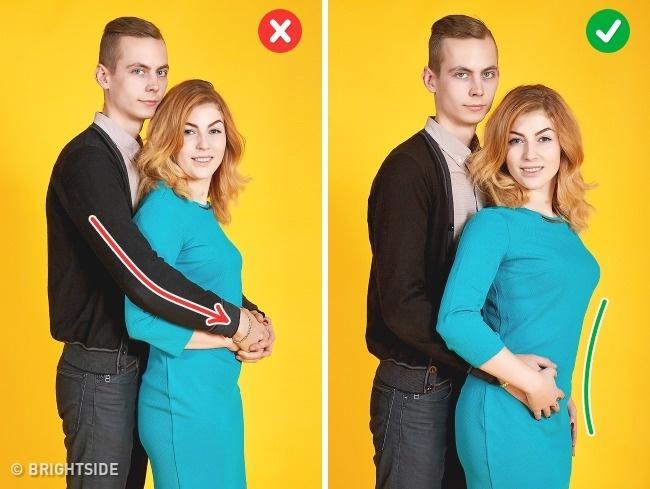 10張「差一點其實差很多」情侶擺PO技巧 已經不是顯胖顯瘦的問題了!