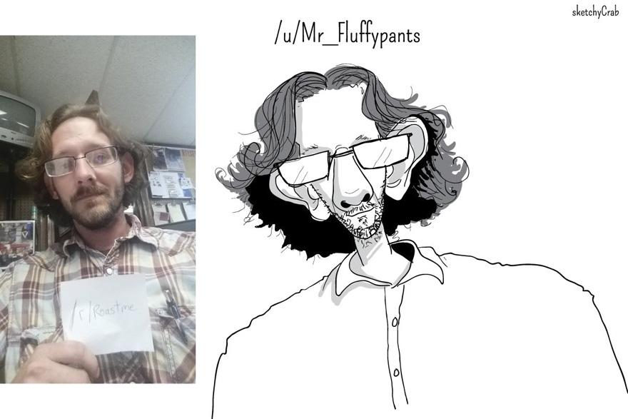 超狂插畫家「把每個人缺點無限放大」畫出醜陋肖像,但「美到」每週都有超多人跪求被他羞辱!(20張)