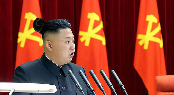17張「各國領袖加上性感男人丸子頭」的惡搞爆笑圖,#17金正恩超適合!