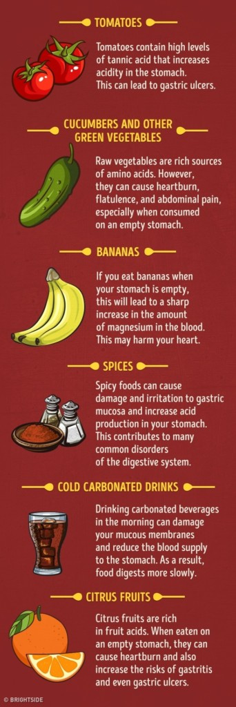 20種你絕對不能「一大早空腹」時吃的的食物 優格竟然也包含在裡面!