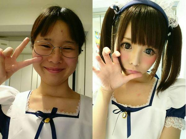 她靠「神級化妝術」升級二次元美少女,變「視覺系帥哥」震撼網友!(17張、有教學)