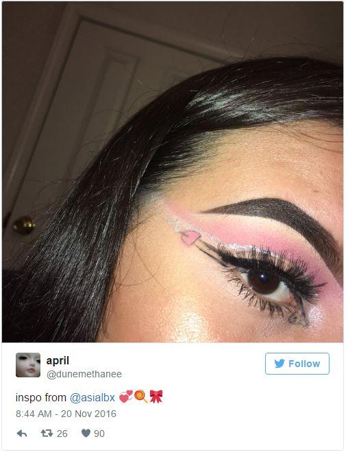 19歲少女「超狂GG蛋蛋時尚眼妝」引爆模仿熱潮,細節逼真「還有射出版本」無法直視!