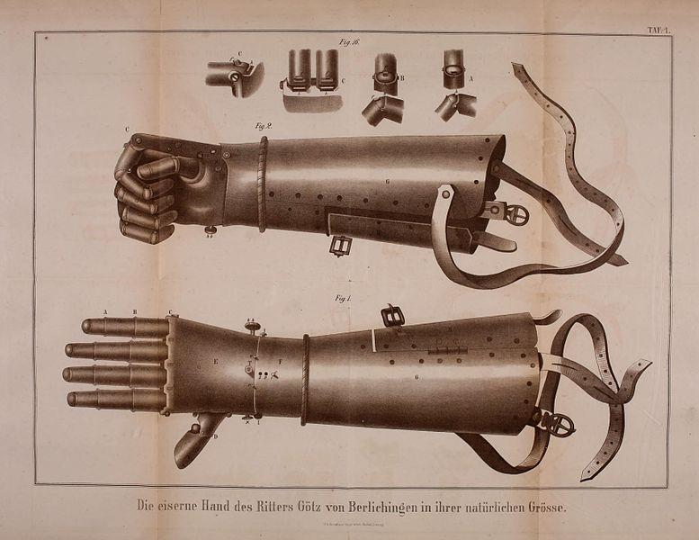 中世紀「德國傳奇騎士」叱吒風雲,雙手炸斷但自己打造「鋼鐵人手」比有手時更強!
