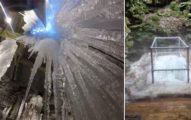 美國「神祕冰坑洞穴」夏天結冰冬天融化,遊客:「冬天熱到滴水!」