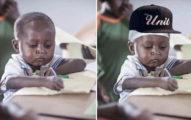 加納5歲男孩因為這張「認真寫功課照」爆紅,「短短一天賺6萬」改變未來!