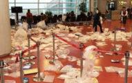 中國遊客從韓國機場離開後「登機門變垃圾場」,讓機場人員非常頭痛...