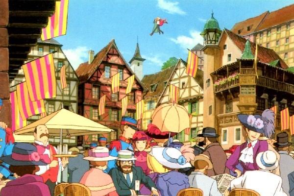 《霍爾的移動城堡》真實場景就在法國最浪漫小鎮裡,「超浪漫場景比較對比圖」讓你看到真實童話世界!