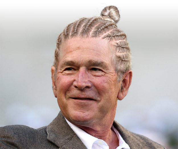 23張「各國政治人物綁超MAN包子頭PART 2」改圖大賽神作。#2歐巴馬帥爆!