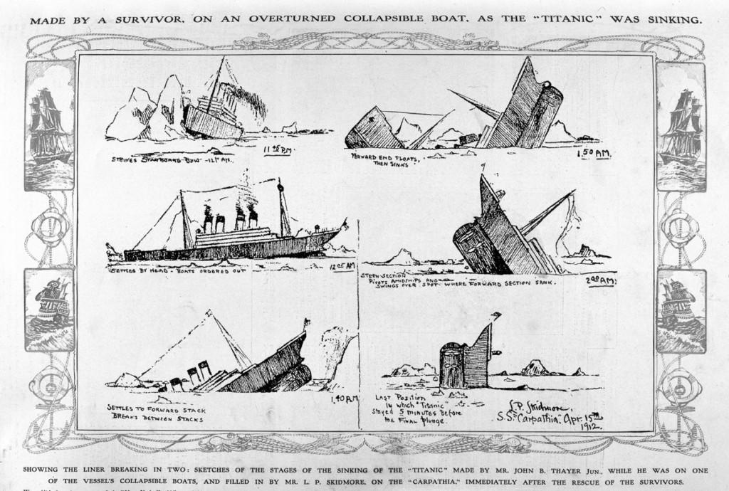 29張百年前「鐵達尼號真實倖存者照」流出,#25這畫面你絕對沒看過!