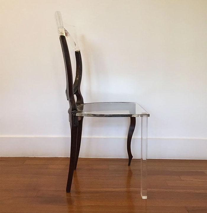 8款破爛木頭傢俱結合特殊材質變成「空間裂縫夢幻傢俱」,#5美到花10萬買都願意!