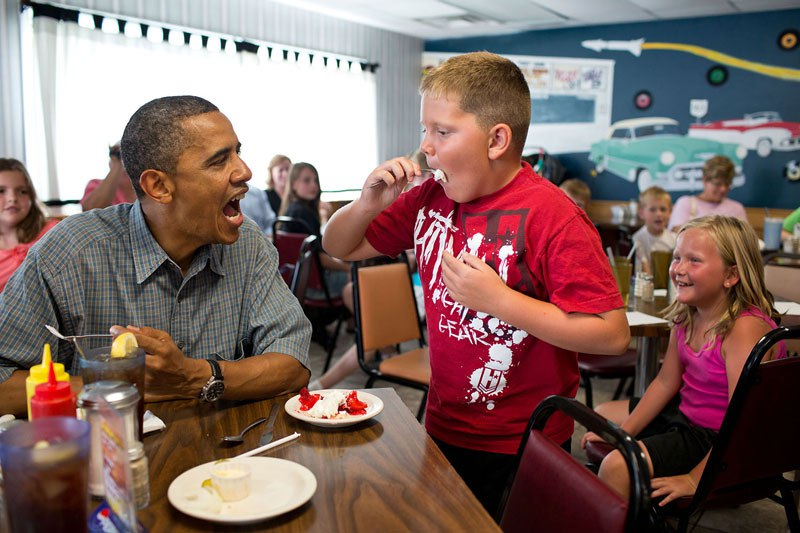 26張讓我們看懂為什麼「歐巴馬是史上最棒總統」白宮精選照片!