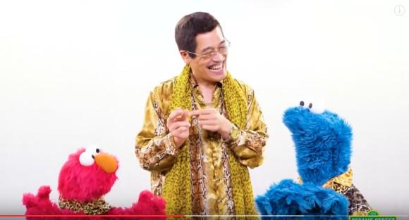 PIKO太郎發表「新無厘頭椅子舞」比原版還洗腦!芝麻街也超Q加入了!