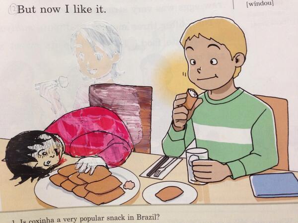 23張證明「課本絕對不能給日本學生」的被修改爆笑課本畫作!