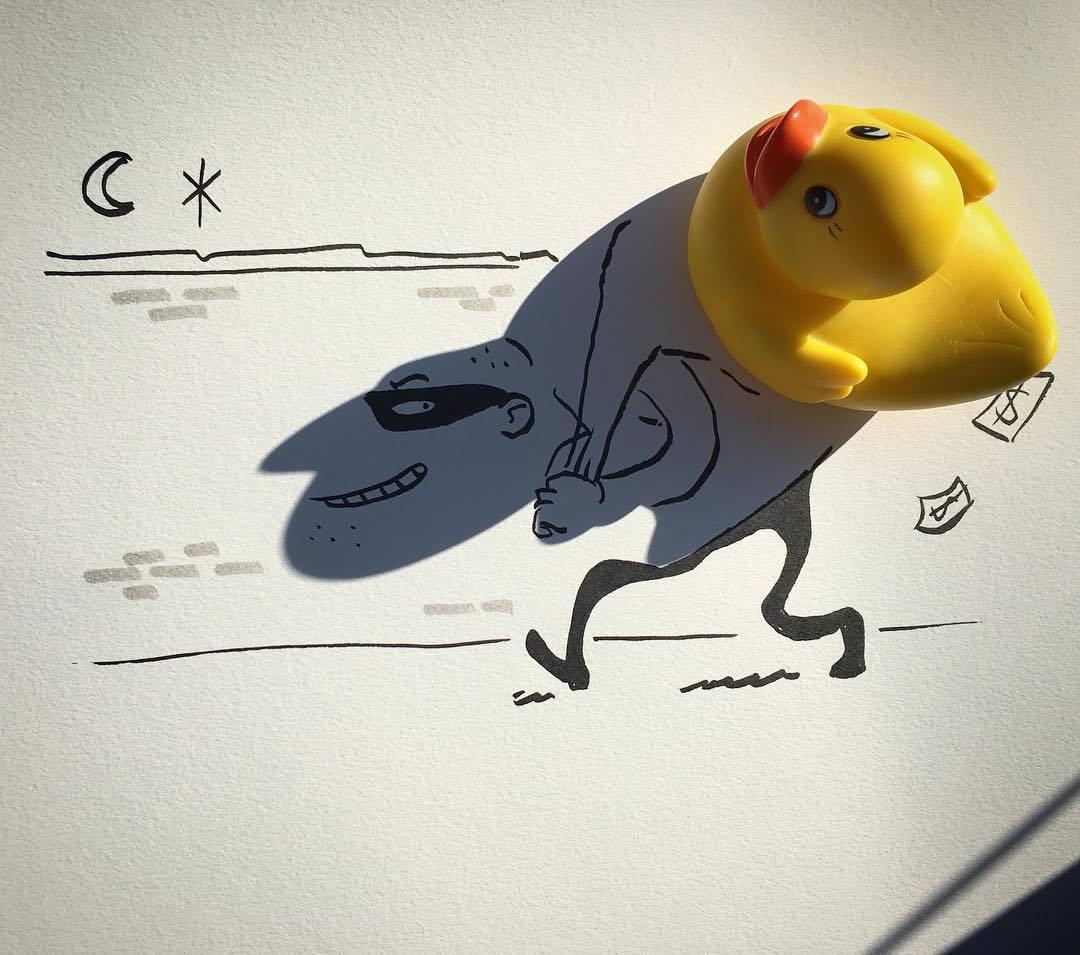 14個「影子其實想要讓你看」的超有趣影子創意。