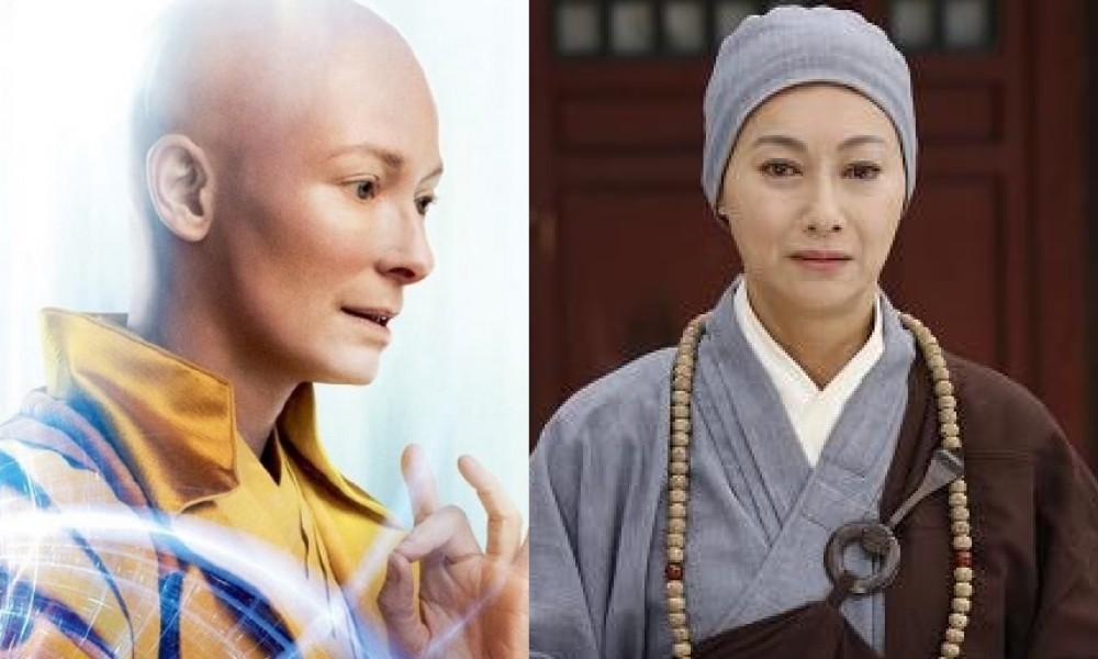 5個「與好萊塢明星神撞臉」的香港藝人,#4根本跟《奇異博士》的古一完全一樣!