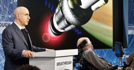 NASA宣布將建「1/5光速航行太空船」,與霍金合作「抵達離地球最近的太陽星系」改變全人類!