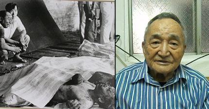 他在20多年前靠「吃人肉」從礦災活下。記者問到:「若回到當時會怎麼選?」