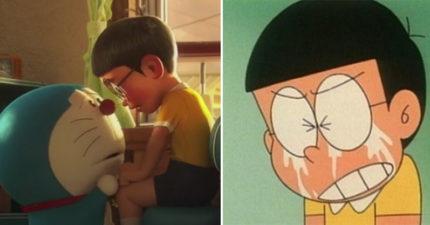《哆啦A夢》最真實結局「大雄是低能兒」 最後領便當了