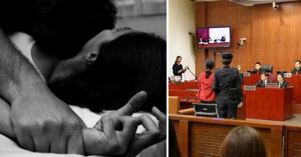 老公拿「磚頭打性侵老婆的犯人」法庭判他有傷害罪「6個月」,性侵犯也才久一點?!