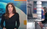 義大利辣妹主播不知道玻璃是透明的,「桌底下的春光」讓她意外爆紅!