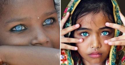 13對會讓你看到被吸進去的「世上最美眼睛」!#6比寫輪眼美!